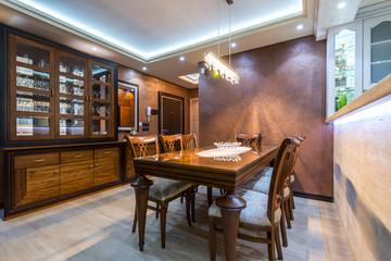 classic dining room interior