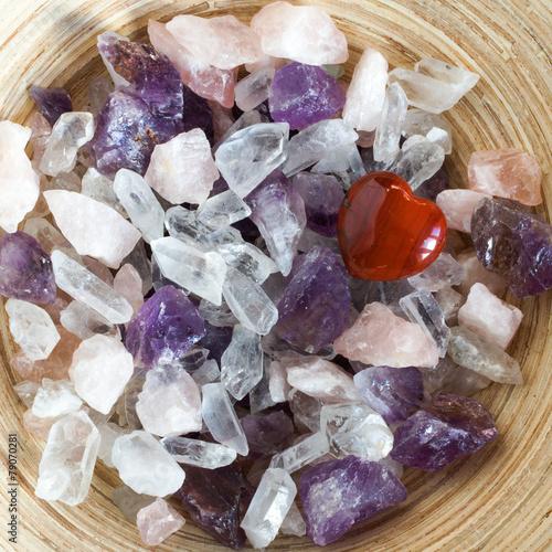 Fotobehang Edelsteen Precious stones