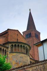Cathedral Church of Piacenza. Emilia-Romagna. Italy.