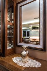 mirror in home interior