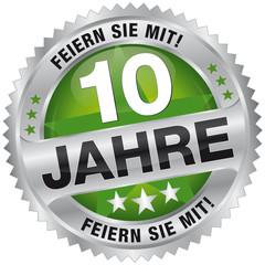 10 Jahre - Feiern Sie mit!