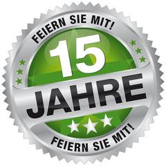 15 Jahre - Feiern Sie mit!