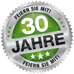 30 Jahre - Feiern Sie mit!