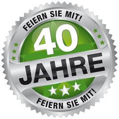 40 Jahre - Feiern Sie mit!