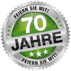 70 Jahre - Feiern Sie mit!