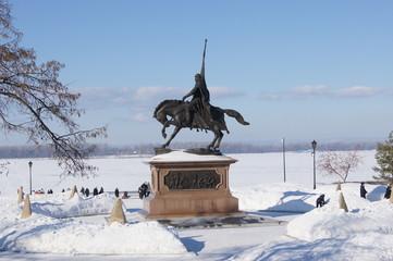 Памятник князю Григорию Засекину в Самаре