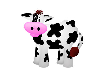 Kuh / Cow / Wallpaper