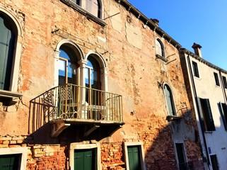 a beautiful balcony in Venice