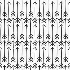 Hand Drawn Style Arrows Seamless Pattern