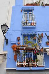 Das blaue Haus in der Altstadt Peniscola
