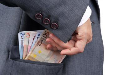 De l'argent dans la poche