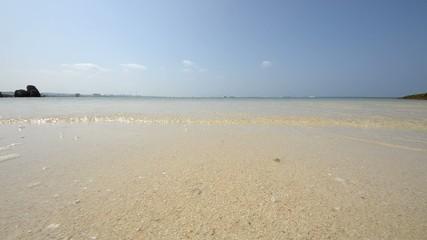 透き通ったビーチ