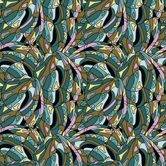 Butterfly wings  Seamless Pattern