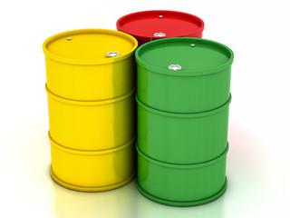 сhemical variegated barrels