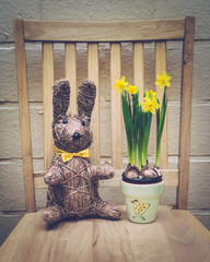 Easter Decoration on Chair