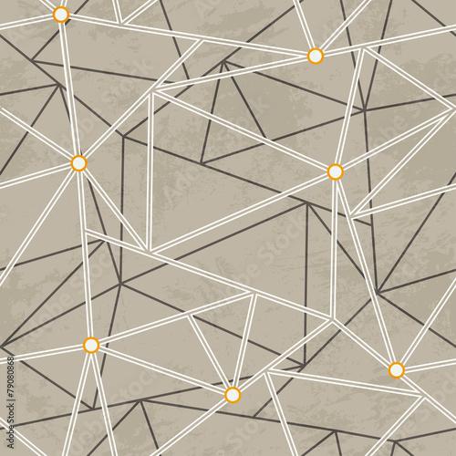 graffiti maze seamless pattern - 79080868