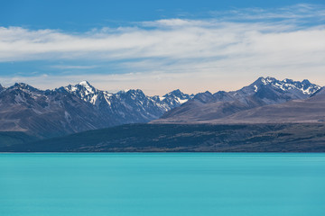 Magnificent Lake Tekapo and snow-capped Southern Alps, New Zeala