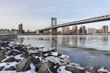 ponte di Manhattan , New York