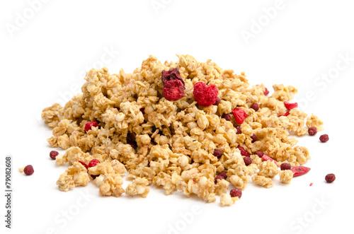 Crunchy-Müsli mit Waldbeeren - 79082608