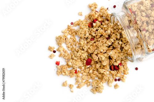 Crunchy-Müsli mit Waldbeeren - 79082639