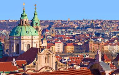 Prague, église saint Nicolas