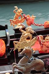 Venezia, gondola dettagli