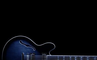 blues guitar shape