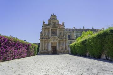 Cartuja monastery facade, Jerez de la Frontera