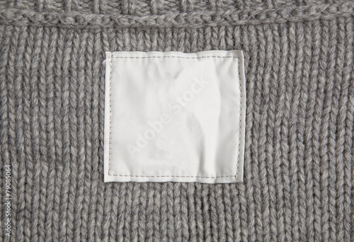 Fototapeta clothes with label tag