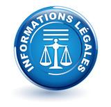 informations légales sur bouton bleu