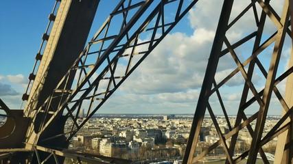 Eiffel Tower-Elevator-Paris-France