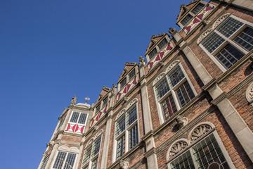 Detail of the Duivelshuis in Arnhem