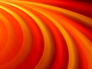 Vibrant orange curves