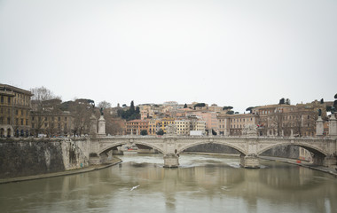 Angels Bridge in Rome
