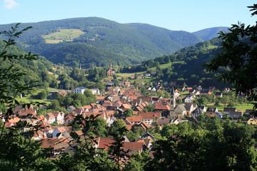 Metzeral, village touristique des Vosges