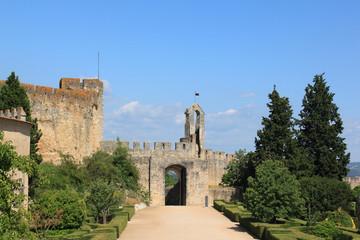 На территории замка тамплиеров в Томаре