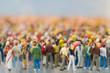 Menschenmengen-Miniatur - 79089875