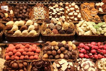 Barcellona, mercato della Boqueria, cibo, sapori, colori