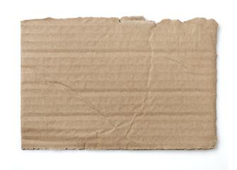 Cardboard piece