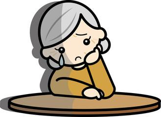 孤独な老婦人