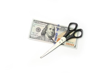 Dollars and scissors