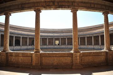 Palacio de Carlos V, Alhambra, Granada, España