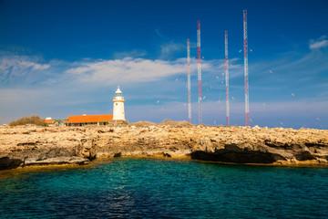 lighthouse near Ayia Napa