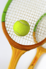 Rackets for tennis and ball