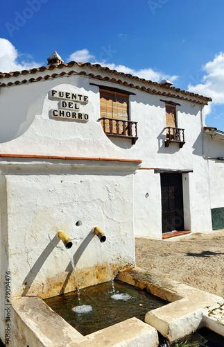 Fuente del Chorro, Castaño del Robledo, Huelva, España