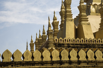 Ancient temple in Laos