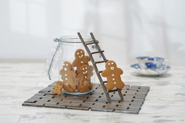 Gingerbread Jar
