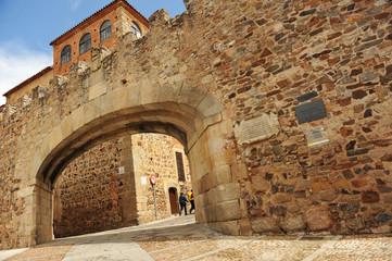 Arco de la Estrella, Cáceres, Extremadura, España