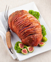 Spiral cut petite ham
