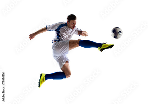 Papiers peints Magasin de sport soccer player in action